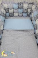 Комплект постельного белья Happy Baby Blue (6 ед.)