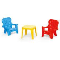Набор cтол и 2 стула, код 41447