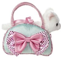 Aurora Fancy Pal Cat Icy Blue W/Bow (32732)