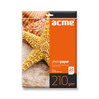 ACME Photo Paper A4 210 g/m2 20 pack Glossy