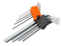 Ключи шестигранные 1,5-10mm 9шт длинные  Wokin