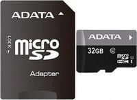 Adata 32GB MicroSD Card + SD Adapter