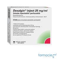 Дексалгин, раствор для инъекций 25 мг/мл 2 мл № 5