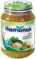 """Hame пюре """"Хаманек"""" кролик со шпинатом и картошкой 190г (210420000)"""