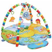 Baby Mix Музыкальный коврик Мишка в самолете