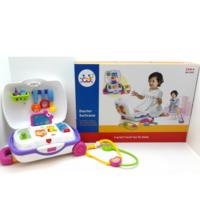 Huile Toys Чемодан доктор с музыкой и светом