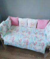 Комплект постельного белья в кроватку Pampy Единорожки 2