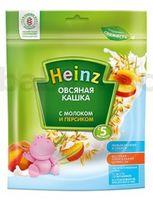 Heinz Овсяная кашка с молоком и персиком (5m+)
