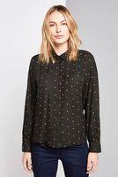 Блуза Tom Tailor Чёрный в горошек tom tailor 1015480