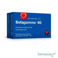 Сотагамма табл. 80мг N100