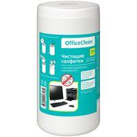 OFFICECLEAN Салфетки OFFICECLEAN для чистки антибактериальные, 100шт