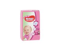 Подгузники для девочек Huggies Ultra Comfort Small 4 (8-14 kg), 19 шт.