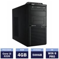 Настольный компьютер Acer Veriton M2611G Tower (Intel Core i3-3220 |4 GB | 500GB | Windows 8 Pro)