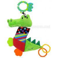 "Baby Mix EF-TE-8567-33 Игрушка плюшевая ""Крокодил"""