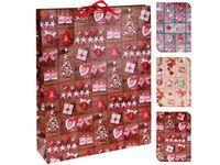 """купить Пакет подарочный """"Новогодняя игрушка"""" 41X33X9.6cm в Кишинёве"""