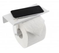 Крючок для туалетной бумаги с полочкой для мобильного телефона 129621