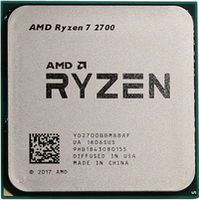 Процессор AMD RYZEN 7 2700, SOCKET AM4, 3.2-4.1GHZ