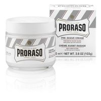 КРЕМ ДО БРИТЬЯ PRORASO WHITE PRE-SHAVE CREAM 100ML