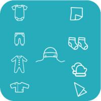Набор одежды для новорожденного Primul Sens Angel (10 ед.)