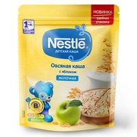 Каша овсяная-яблоко с молоком Nestle, с 5 месяцев, 220г