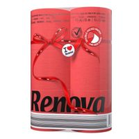 купить Renova Туалетная бумага красная ( 6) в Кишинёве