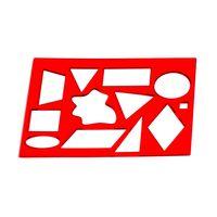 Трафарет геометрические фигуры