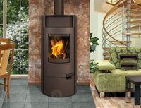 Каминная печь - ROMOTOP LUGO 03 листовой металл - аккумуляционная печь