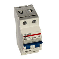 Автомат TSV BA14-63 C 20A 2P 14296