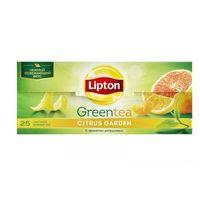 Lipton зеленый чай Citrus Garden 25 пак.
