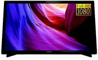 """22"""" LED TV Philips 22PFT4000/12, Black (1920x1080 FHD, PMR 100 Hz, DVB-T/T2/C) (22"""", 60 cm, Black, Full HD, PMR 100Hz,2 HDMI, SCART, USB  (foto, audio, video, USB recording), S/P-DIF, DVB-T/T2//C,  Speakers 5W, 2.7Kg, VESA 100x100)"""