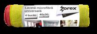 Ткань из микрофибры Zorex Pro, 4 шт. / набор