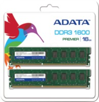 16Gb (2x8Gb) DDR3 PC12800, 1600MHz, DualChannel Kit, CL11, ADATA