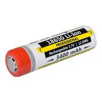 Аккумуляторы Armytek 18650 Rechargeable ACCU 1 pcs 3400 mAh Li-Ion, 18650