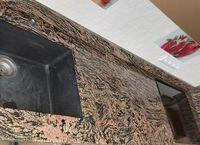Trepte, blaturi, pervazuri Granit juparana exotic 1,8 cm grosime