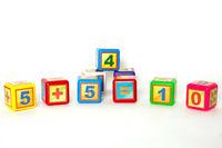 Кубики малые 9- математика, арт. 028/2