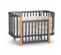 Кроватка детская Верес ЛД5 Монако (темно-серая)