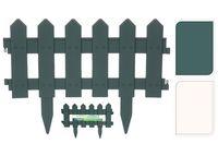 Gard decorativ pentru curte/gradina 40.5X30cm, 4buc