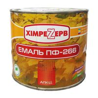 Химрезерв Эмаль ПФ-266 Красно-коричневая 2.4кг