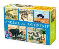 Настольная игра Animale din Continente 6110