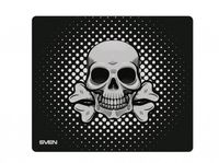 Gaming Mouse Pad SVEN GF2M, 320 x 270 x 3mm, Fabric surface for Speed, Rubberized base, Picture