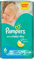 Pampers Active Baby Extra Large 6 (15+ кг.) 54 шт.