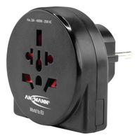 Адаптер электрический Ansmann 1250-0011 Travel plug