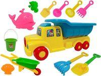 купить Набор игрушек для песка в машине 12ед, 50X20cm в Кишинёве