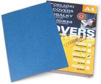 ARGO Картон ARGO Delta A4/250г/м2, 100 листов, синий
