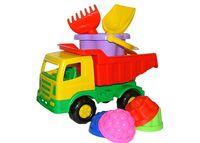 """Самосвал """"Мираж""""с игрушками для песка НабN185 2"""