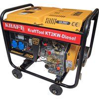 Дизельный генератор 2kW KT2KW  KraftTool