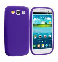 Husa de protectie silicon GO COOL pentru Galaxy S3, Violet