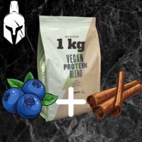 Комплексный протеин для веганов ( Vegan Protein Blend ) - Черника и корица - 1 KG