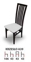 Деревянный стул A39