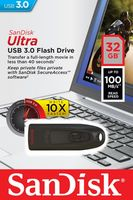 32GB USB 3.0 Flash Drive SanDisk Ultra
